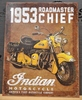 Indian Motorcycle 1953 Sign