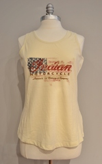 Indian Motorcycle Ladies Flag Tank