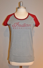 Indian Motorcycle Ladies Logo Slub Tee