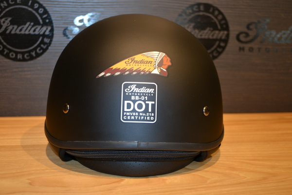 Indian Motorcycle Half Helmet 2