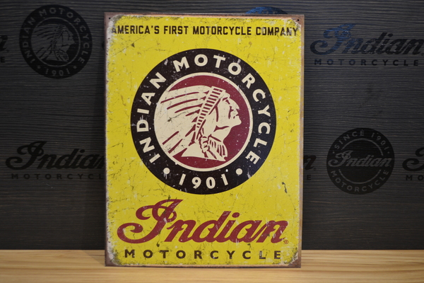 Indian Motorcycle Since 1901 Sign