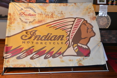 Indian Motorcycle Tent