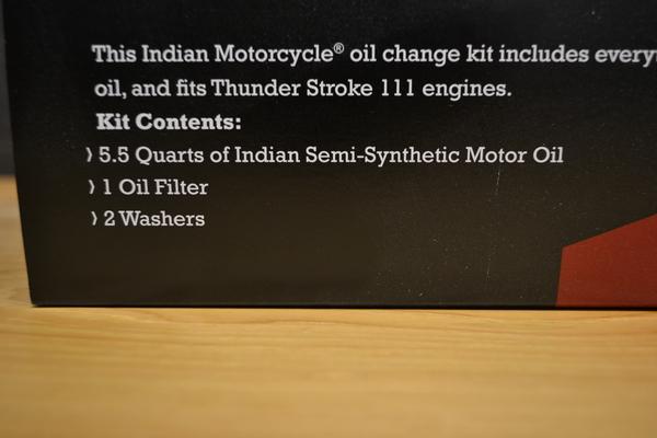 Thunder Stroke 111 Oil Change Kit