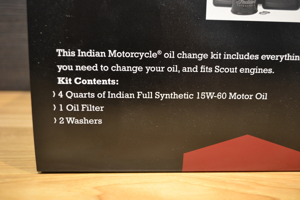 Scout Oil Change Kit