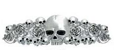 Skull & Roses Hair Ringz