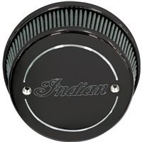 High Flow Air Cleaner Black