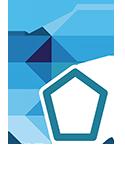 Top class, real estate logo