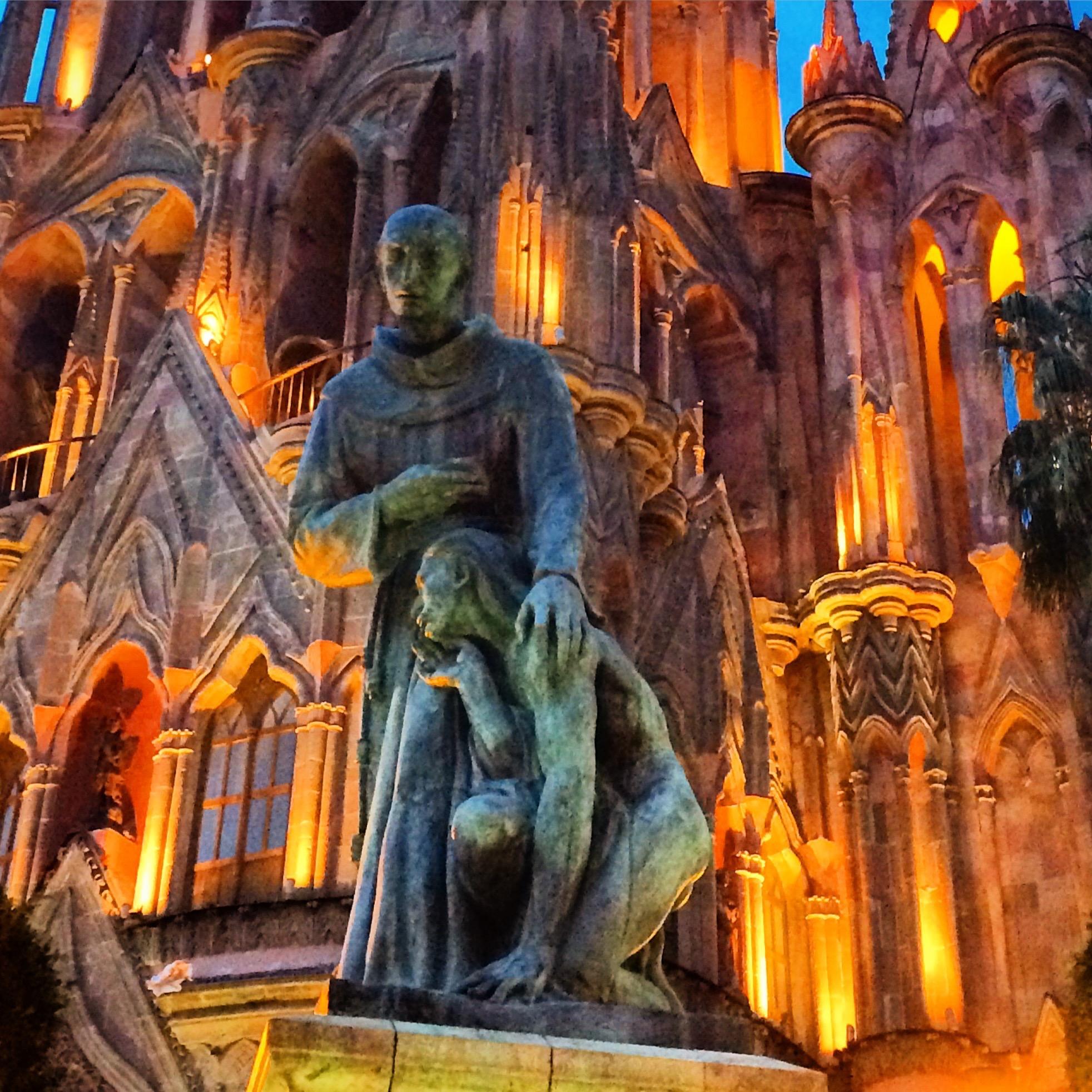Fray Juan de San Miguel en San Miguel de Allende