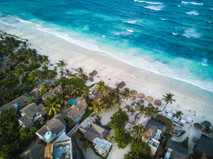 Playas de Tulum. Foto: Spencer Watson de Unplash
