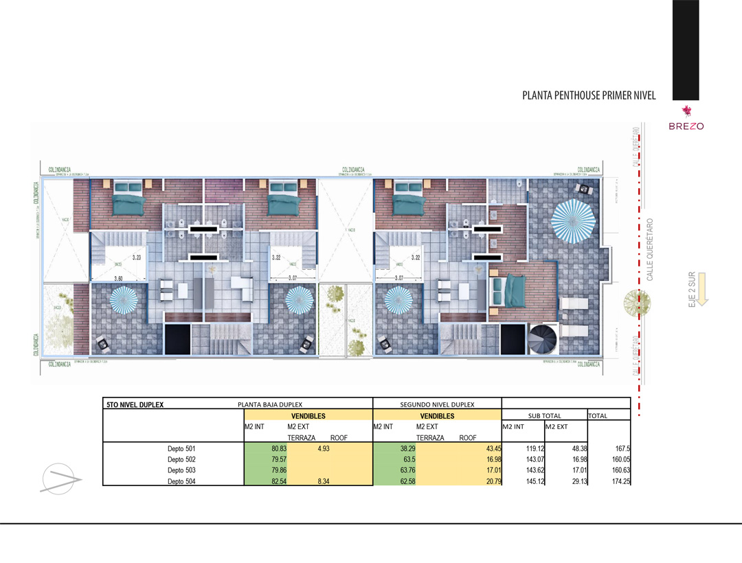 Penthouse Primer Nivel