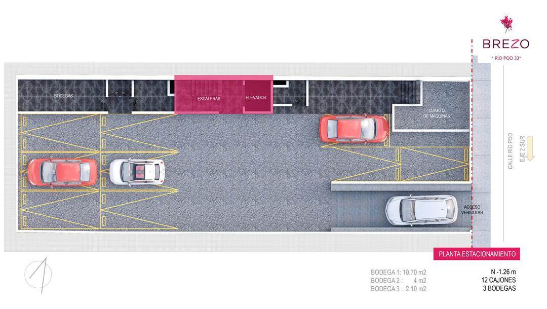 Planta Estacionamiento