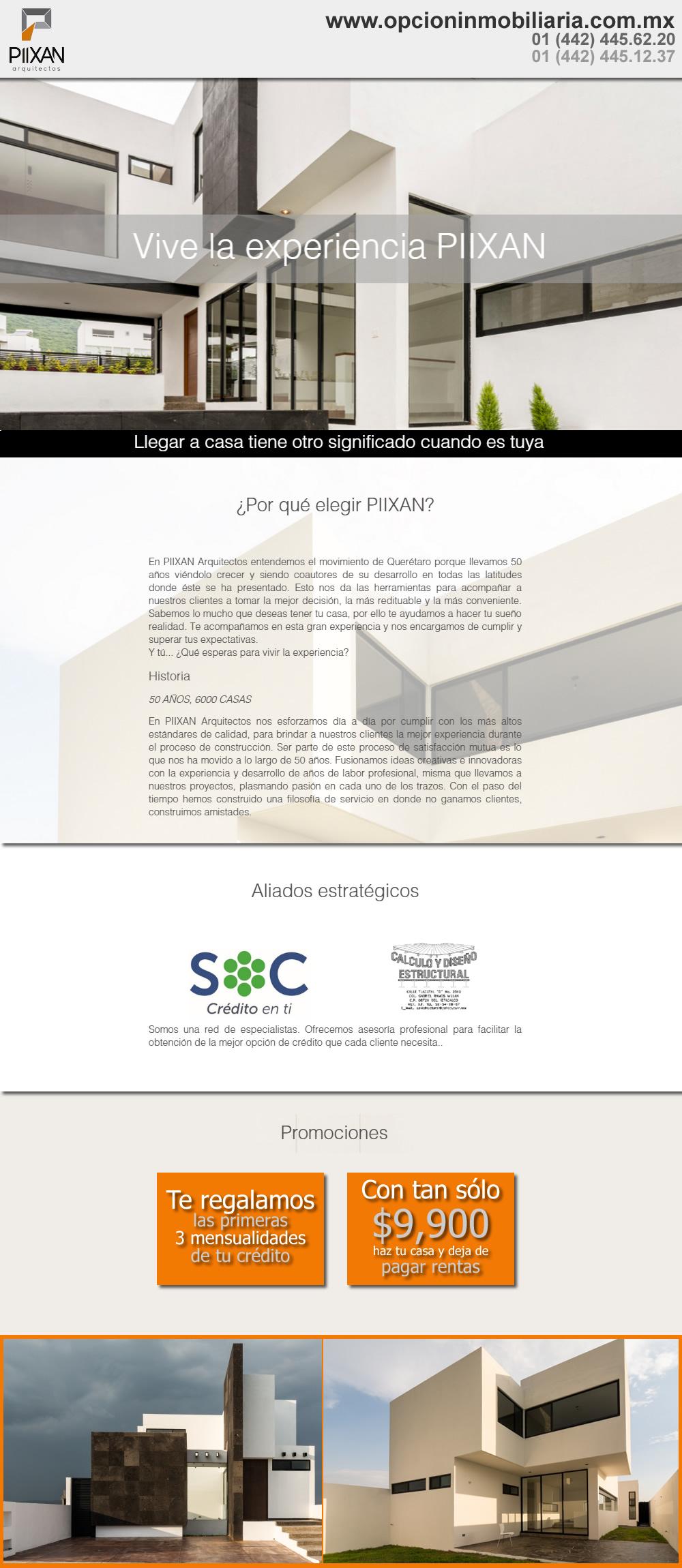 PIIXAN arquitectos - Construye con los expertos