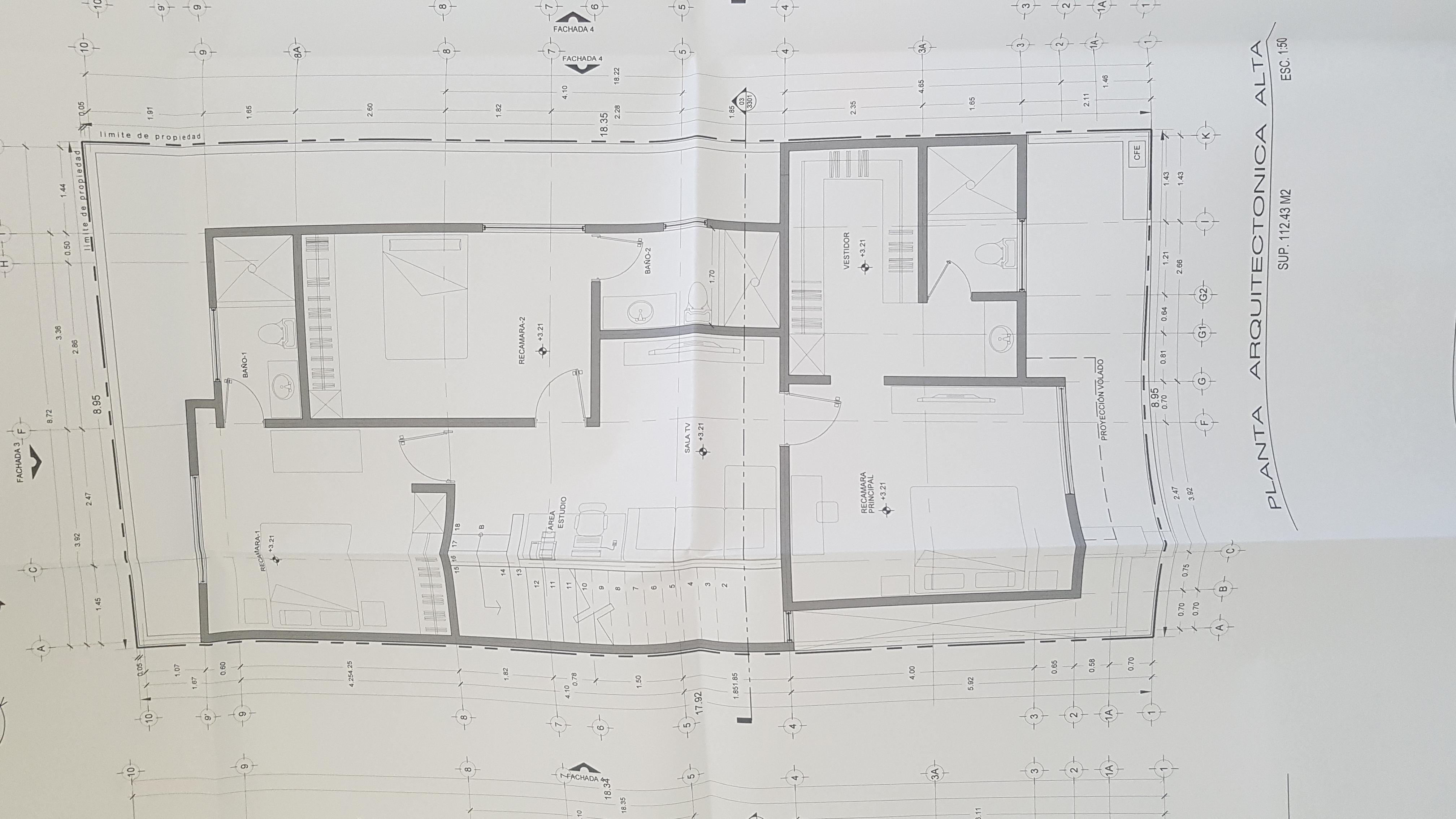 Ultima casa en venta en fracc cortez ermita cercano a las for Planta arquitectonica pdf