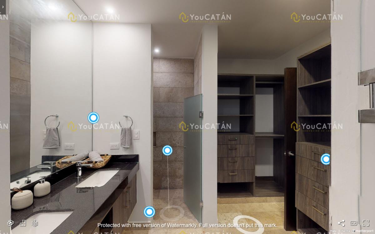 21 de 43: Vista baño y closets Principal