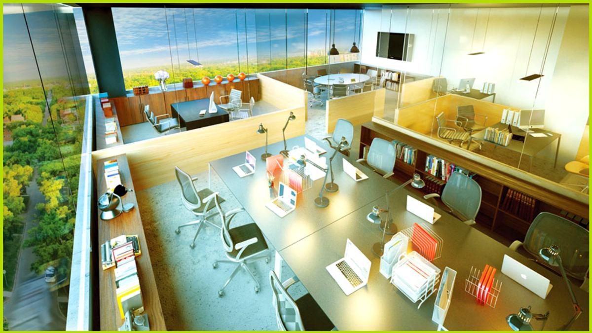 6 de 14: Oficinas privadas y corporativas
