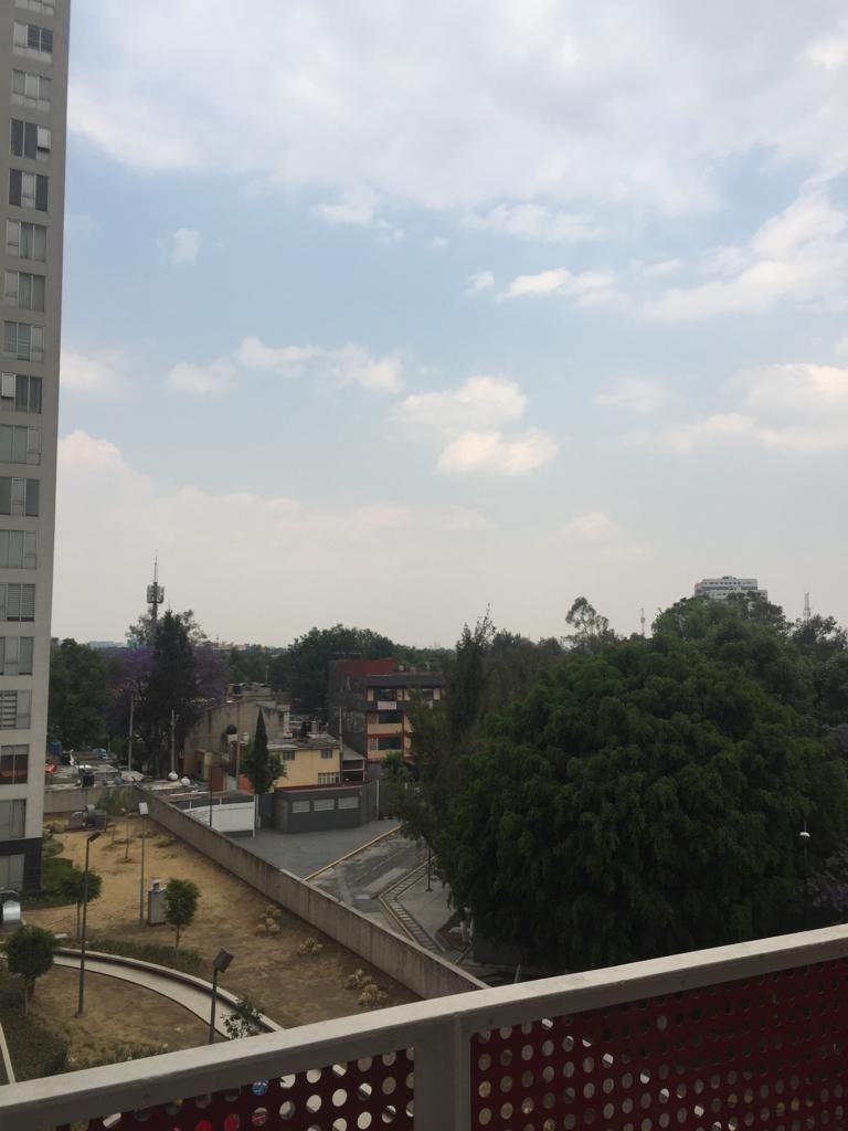 14 de 24: Vista desde el balcón