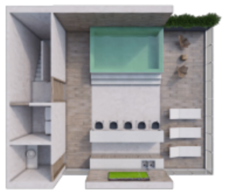 11 de 12: Roof garde de penthouses