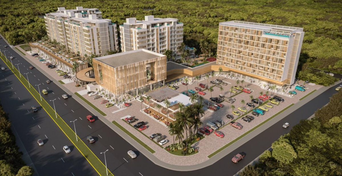 9 de 31: Centro comercial junto al desarrollo