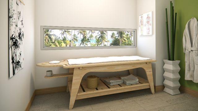 10 de 13: Area para masajes.