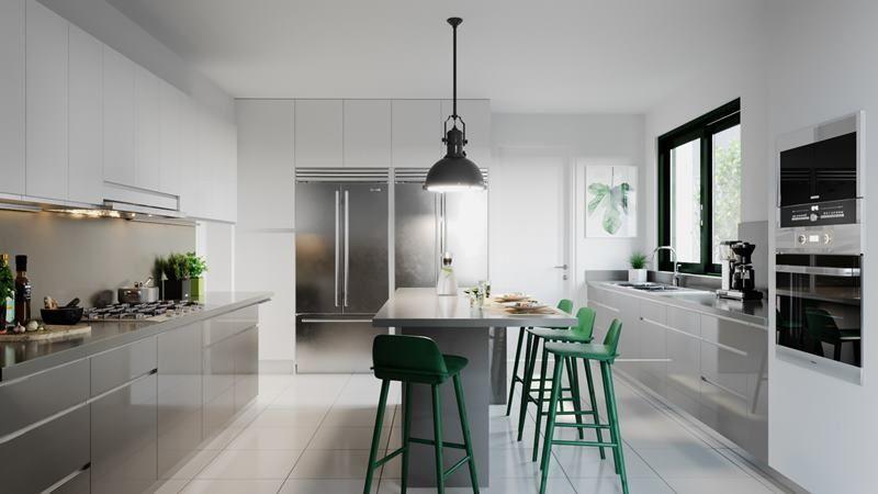 9 de 16: Imagen referencial de la moderna cocina