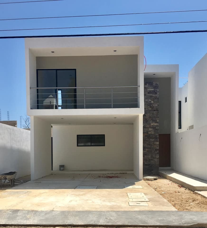 1 de 21: fachada casa en merida