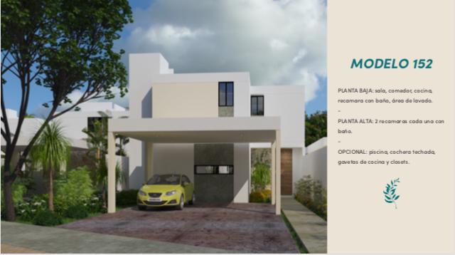 1 de 11: Casa en privada al norte de Mérida