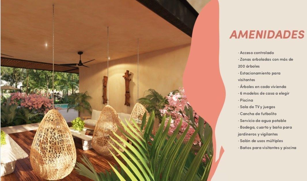 6 de 11: Casa en privada al norte de Mérida
