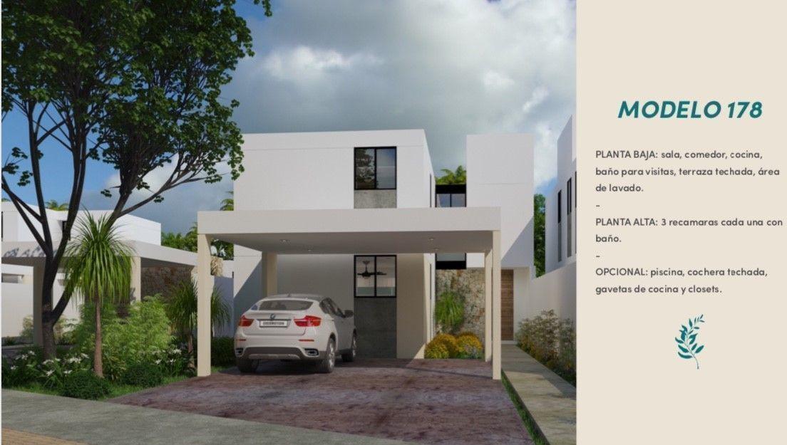 1 de 12: fachada casa en privada Aleza