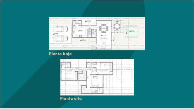 3 de 12: plantas de casa en privada Aleza