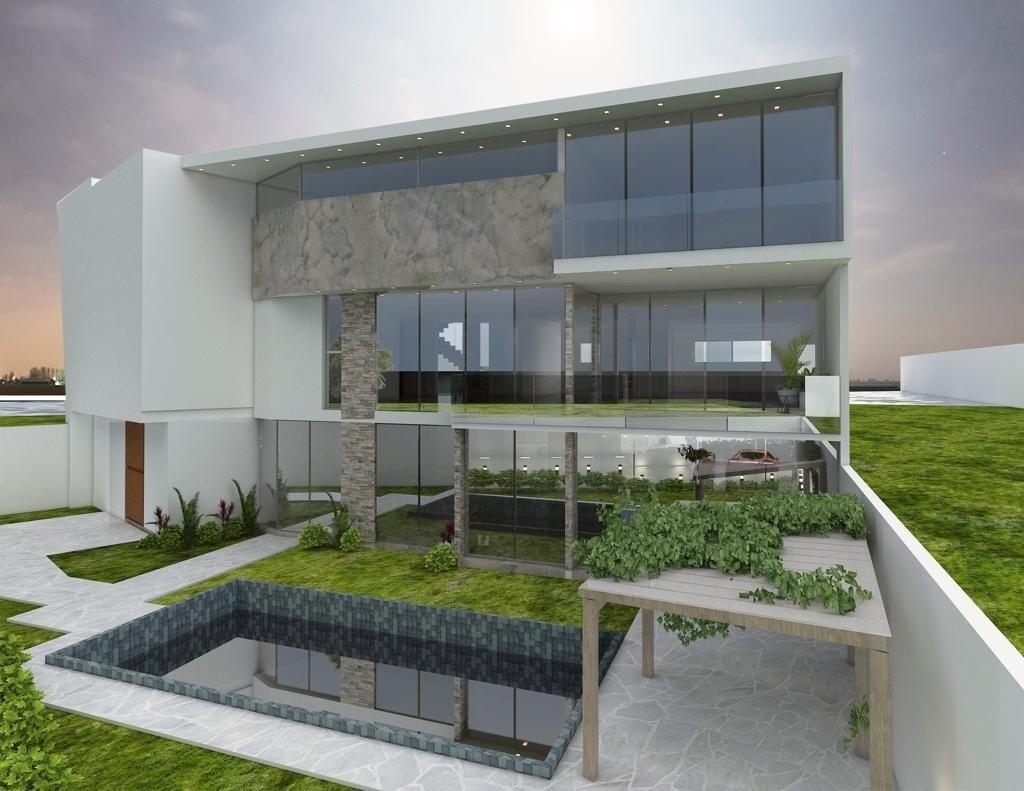 Los Frailes Casa Nueva De Lujo Con Alberca En Venta Puerta De Hierro