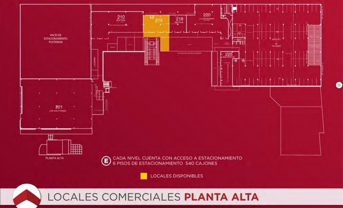 36 de 40: Locales Planta Alta.