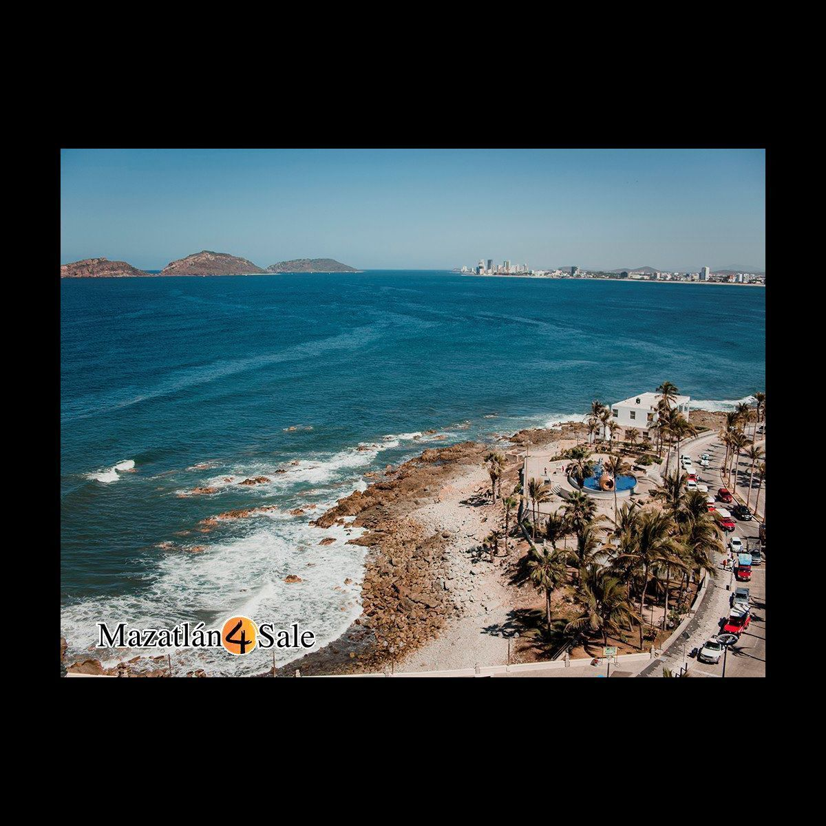 19 de 25: Vista de Mazatlan