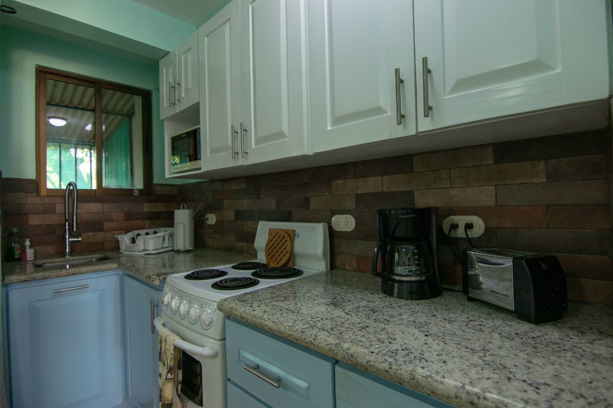 4 of 15: Remodeled kitchen