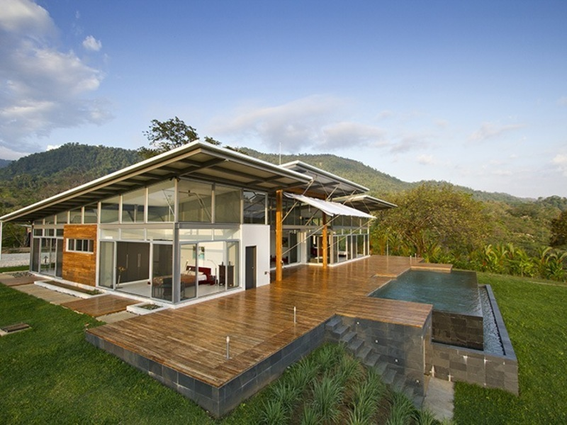 Contemporary Bliss In The Rainforest