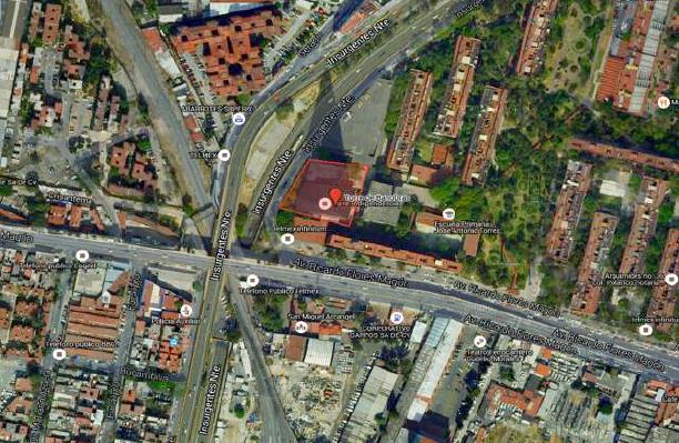 3 de 10: Vista Satelital