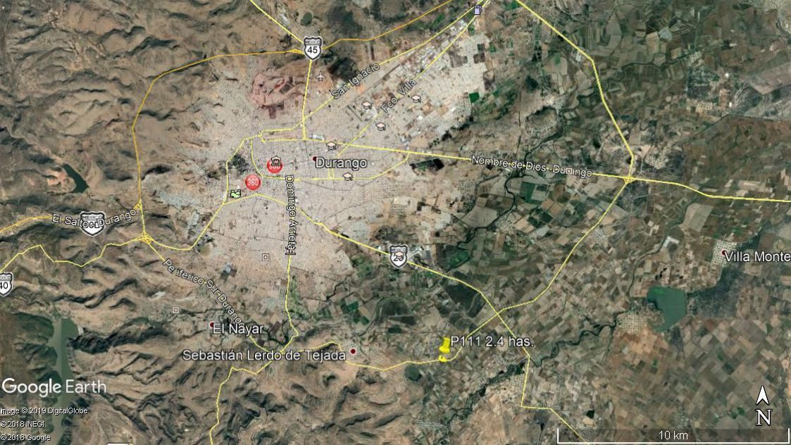 5 de 6: Localizado entre los entronques ferreria y carr mezquital
