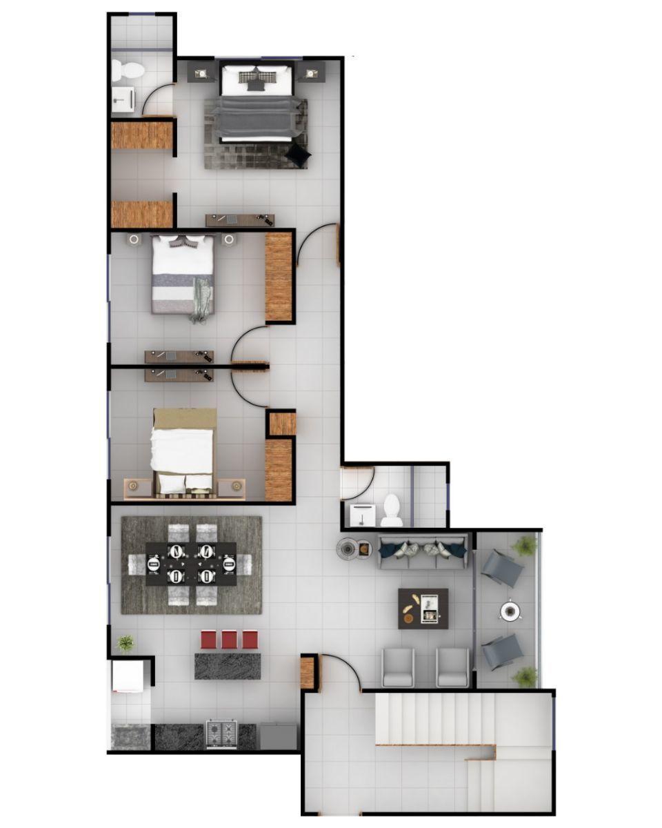 Moderno Apartamento con 2 parqueos en Urb. Doral Parkimage2