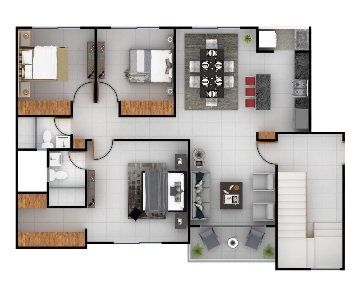 Moderno Apartamento con 2 parqueos en Urb. Doral Parkimage3
