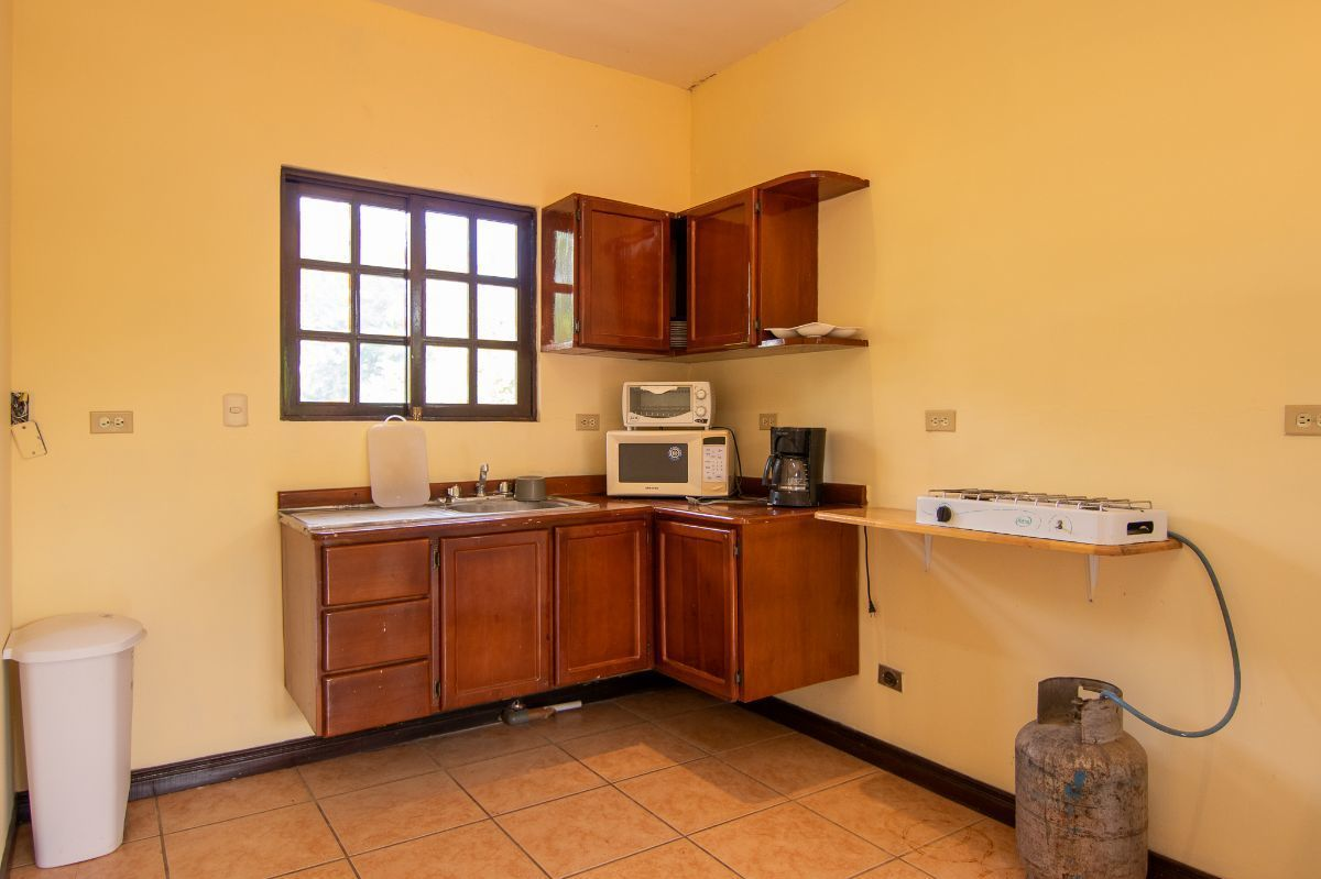 2 of 9: Kitchen and living room
