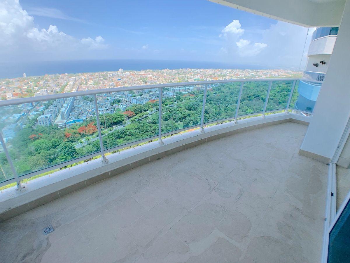 1 de 17: Balcón apto. Orientación SUR y Vista al Mar