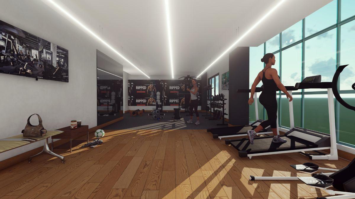 3 de 5: Gym