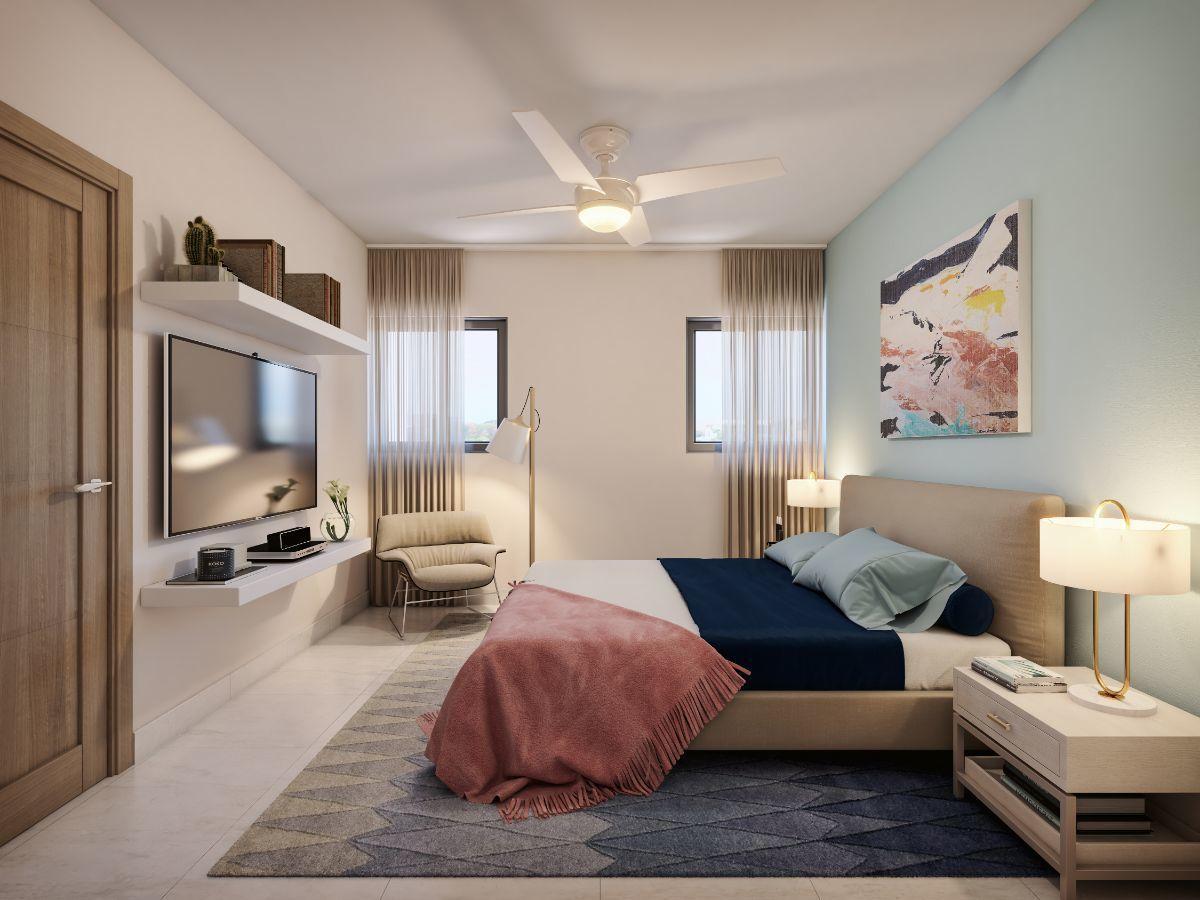 3 de 4: Habitación espaciosa