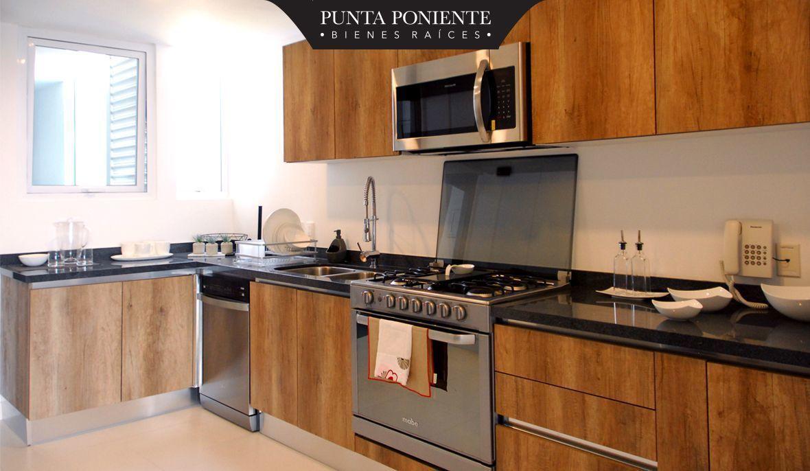 11 de 19: Cocina italiana con terminados de madera