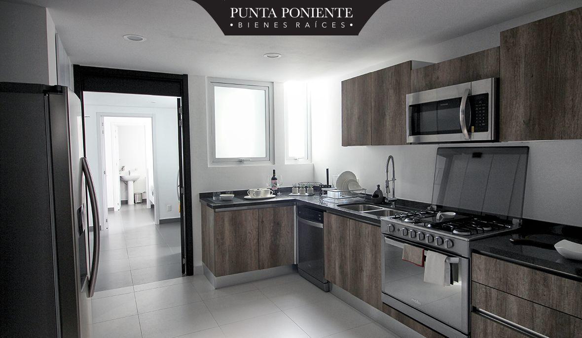 12 de 21: Cocina italiana con terminados de madera