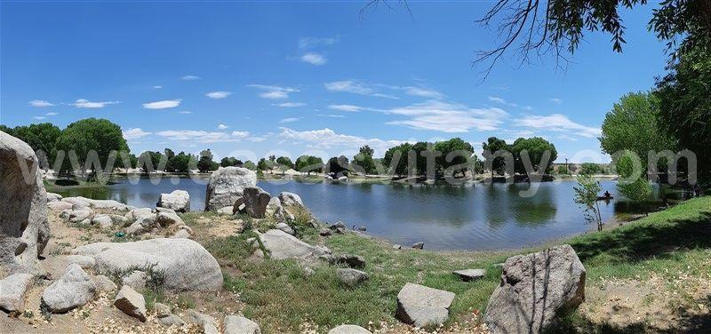 16 de 16: Vista del estanque