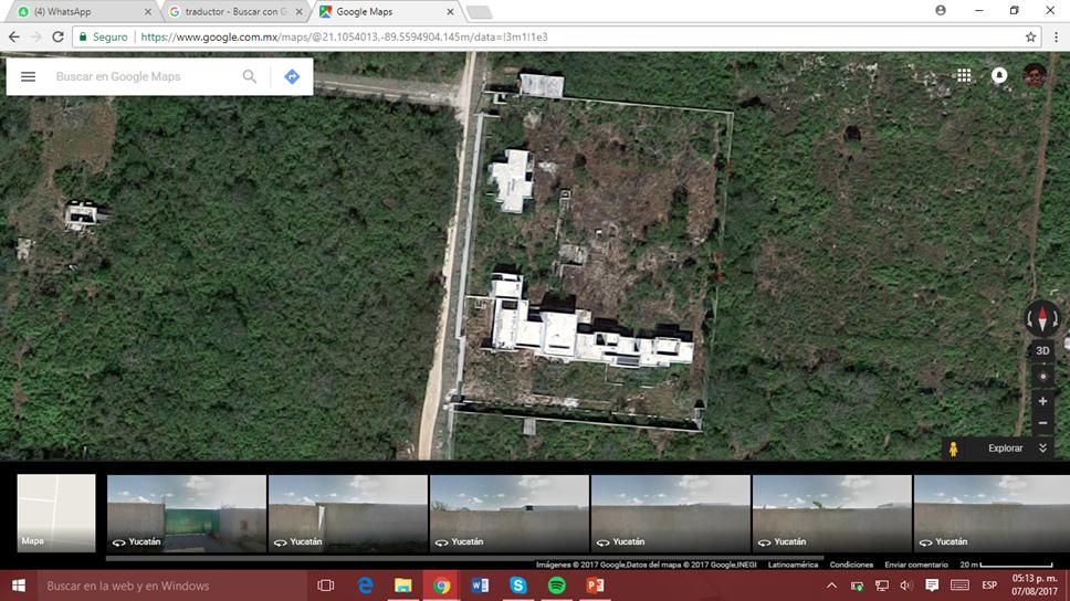 1 de 25: Vista Google Maps