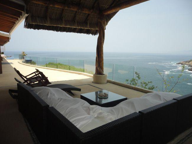 2 de 28: casa con vista a la bahia en las playas de acapulco