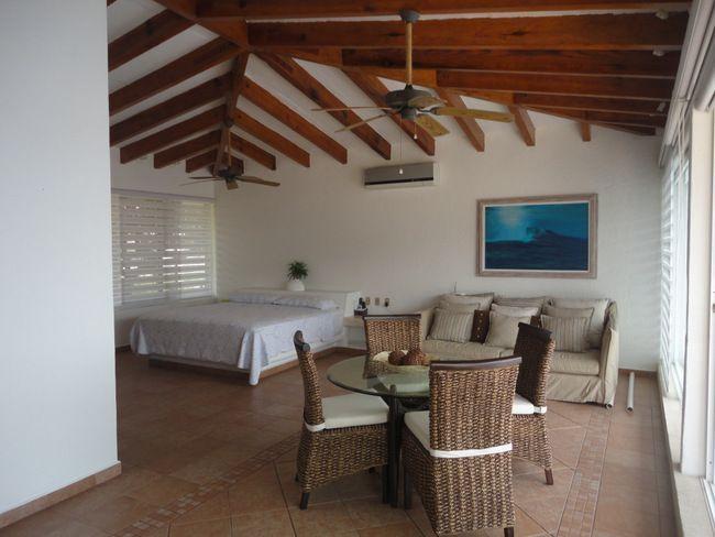 5 de 28: casa con vista a la bahia en las playas de acapulco