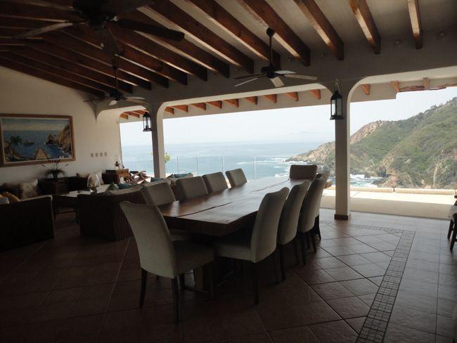 11 de 28: casa con vista a la bahia en las playas de acapulco