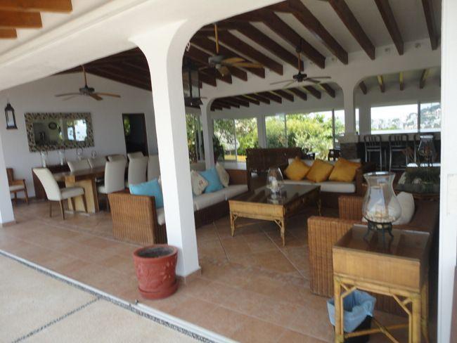 12 de 28: casa con vista a la bahia en las playas de acapulco